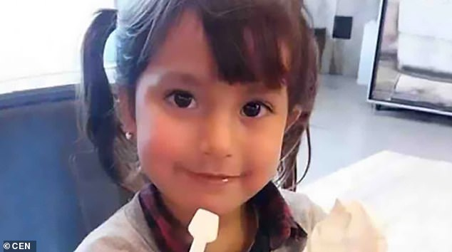Four-year-old Bianca Xiomara Godoy was rushed to a hospital in Buenos Aires, Argentina on Friday night but doctors were unable to revive the little girl